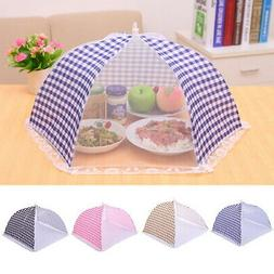 Kitchen Food Cover Tent Umbrella Outdoor Camp Cake Cover Mes