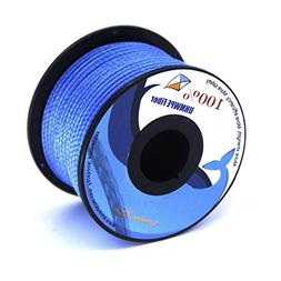 emma kites Blue UHMWPE Braided Cord High Strength Least Stre