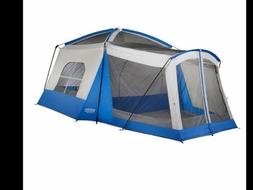 WENZEL KLONDIKE 8 Person Tent Blue NEW
