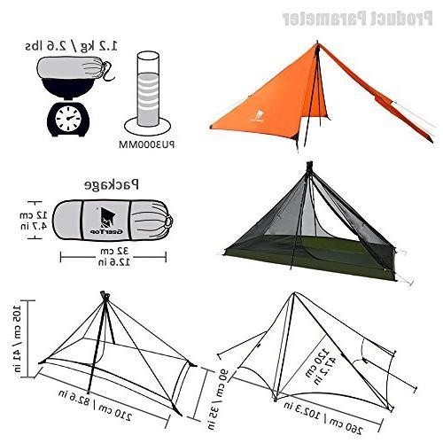 Geertop Season Tent Camping Climbing