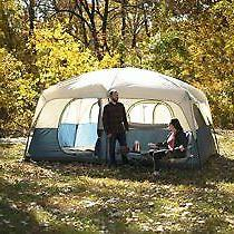 10 Person Ozark Trail 14 X10 Cabin Base Camp Family Shelter