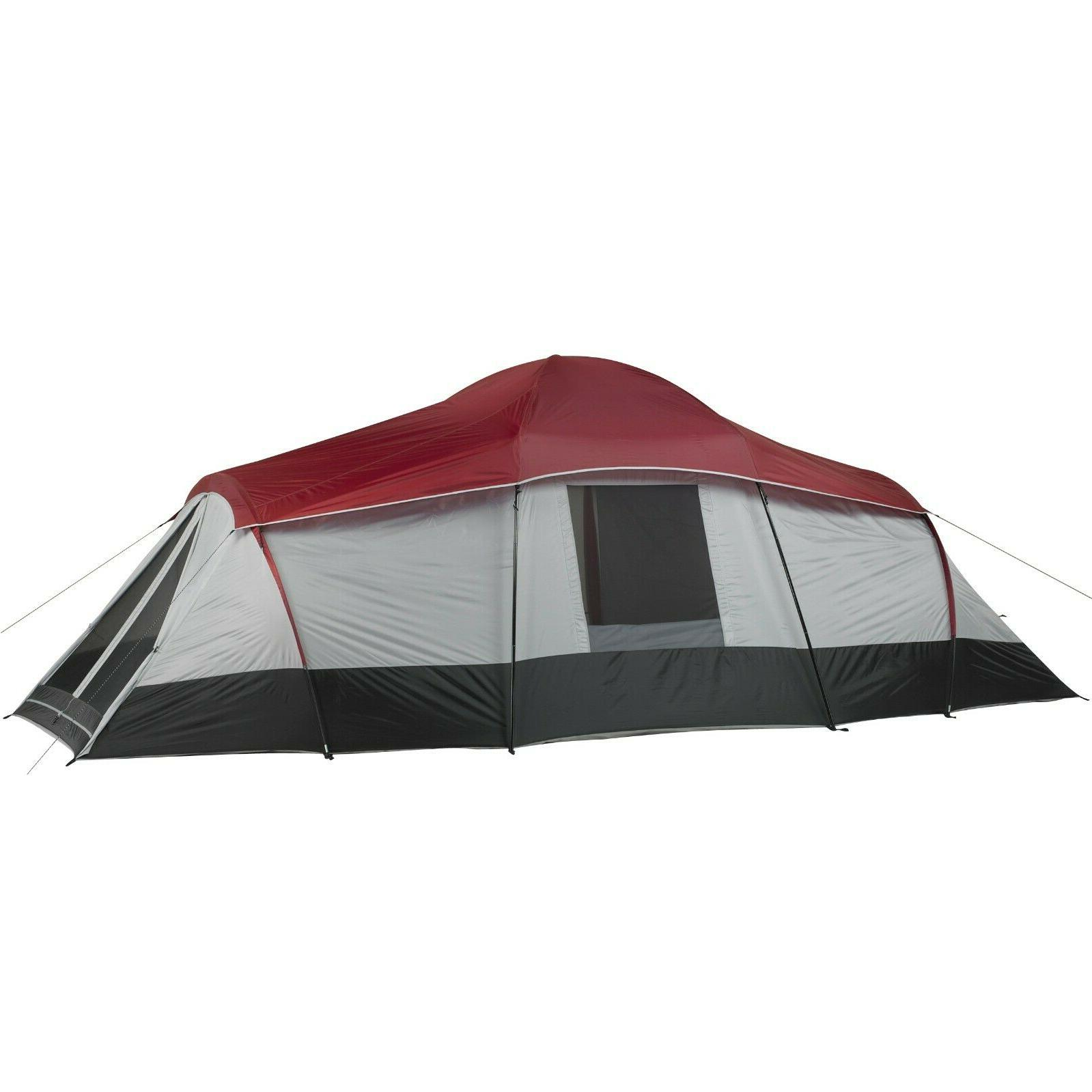 Ozark Trail WMT922.4 10-Person 3-Room XL Family Cabin Tent