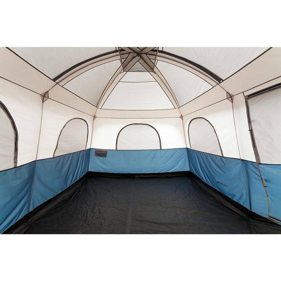 Ozark Trail 10 Person Cabin Tent w/AC Port - Blue