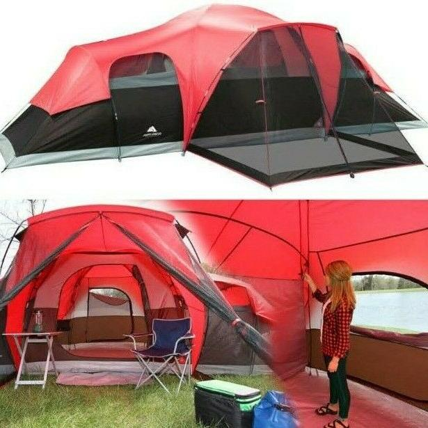 Ozark Trail 10 Person Family Camping Large Tent
