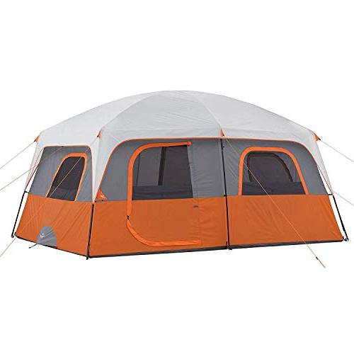 9 person extended dome tent