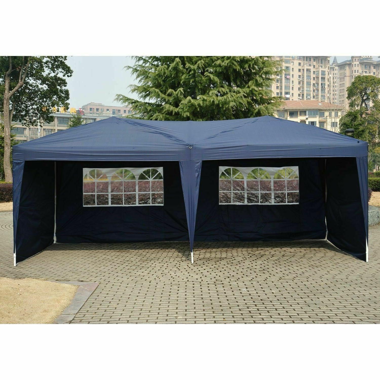 EZ UP Tent Wedding Canopy W/Carry Bag Outdoor Gazebo
