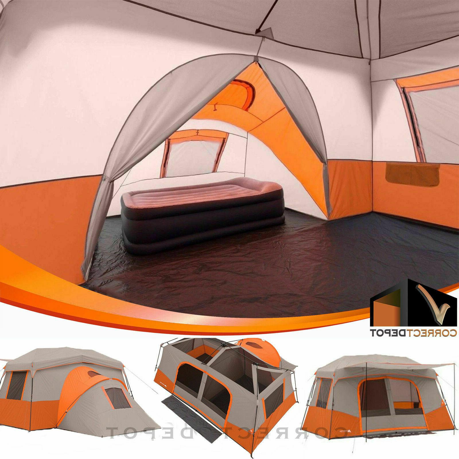 Ozark Trail 11-Person Instant Cabin With Private Room Tent N