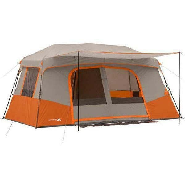 11-Person Instant Family Tent with Private Room Outdoor All