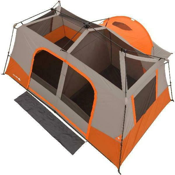 11-Person Instant Cabin Tent Outdoor Camping All