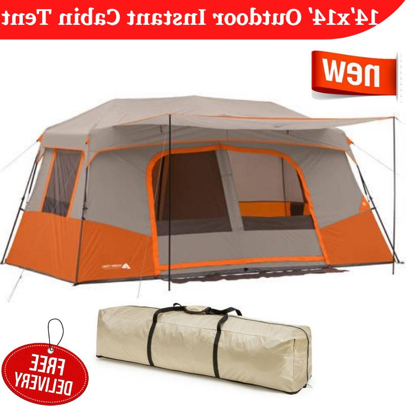11 person instant family cabin tent