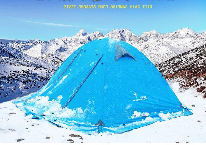 FLYTOP 2 Waterproof Fishing Outdoor Snow <font><b>Tent</b></font>