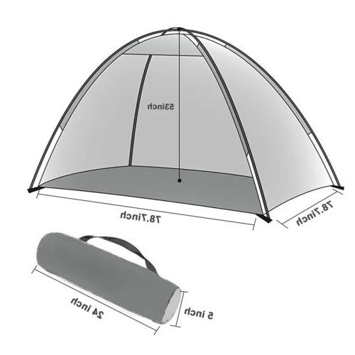 4 Person Camping Dome Tent Waterproof Double Sun Canopy