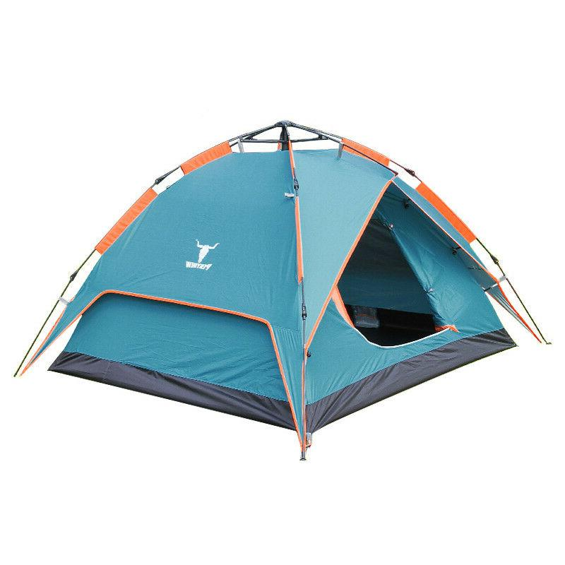 2-3 Beach Automatic Camping Sun Shelter