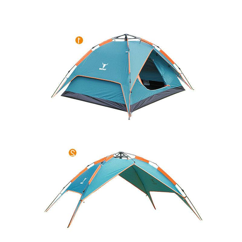 2-3 Person Beach Instant Camping Tent Sun Shade Shelter