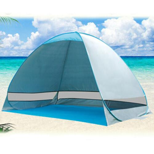 2-3 Person Up Beach Canopy Camping Shelter