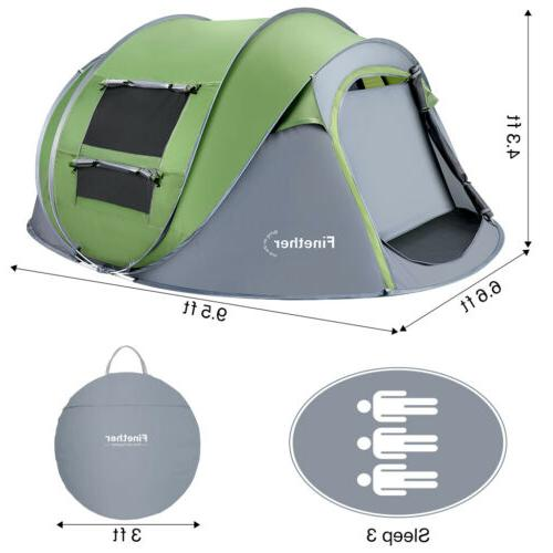 5 Person Up Camping