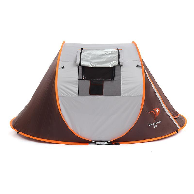 2-8 People Camping <font><b>Tent</b></font> Waterproof Automatic <font><b>Tent</b></font> Outdoor 4