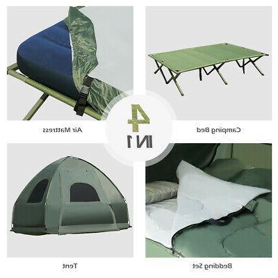 2-Person Portable Tent/Camping Mattress & Sleeping