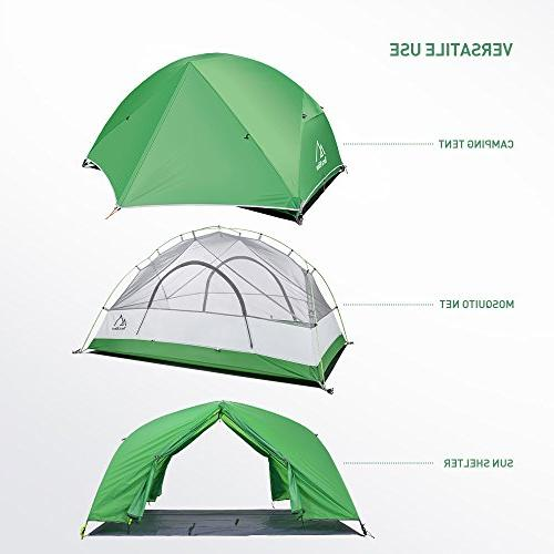 Terra 2 Person Tent, 4 with for Activities