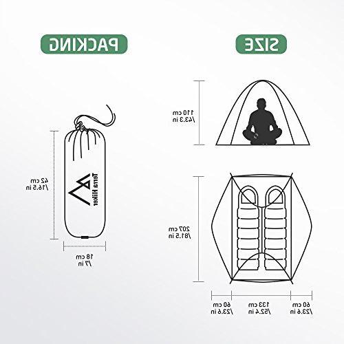 Terra 2 Tent, Seasons with Tent Tarp for Activities