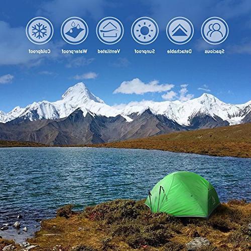 Terra Hiker Tent, 4 with Fly, Tarp
