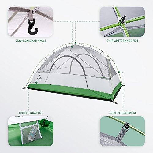 Terra Tent, 4 Seasons with Tent Fly, Tarp for Activities