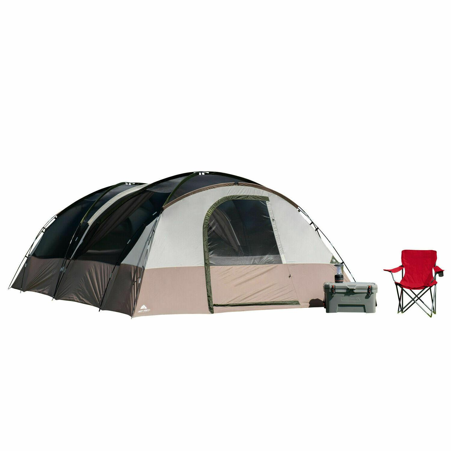 20-Person Tunnel Tent Outdoor Camping Family Back Packing Sh