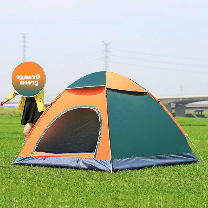 Tent Outdoor Sports Pop Up Camping Family Waterproof Automat