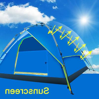 3-4 Outdoor Pop Tent Camping Hiking