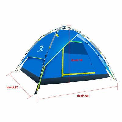3-4 People Outdoor Instant Tent Camping