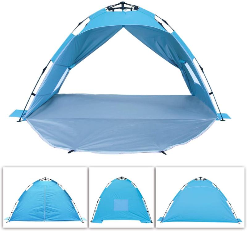 3-4 People Outdoor Instant Pop Tent Camping Hiking