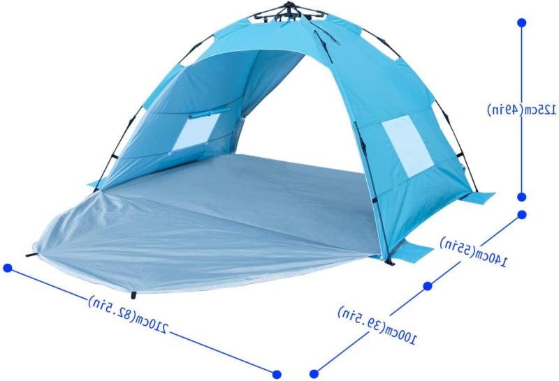 3-4 Outdoor Instant Tent Camping Hiking Tent