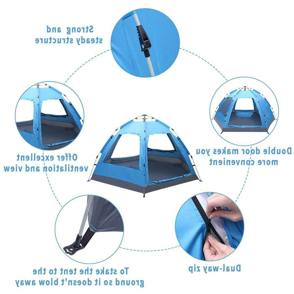3-4 Pop-Up Tent Double Layer Travelling.