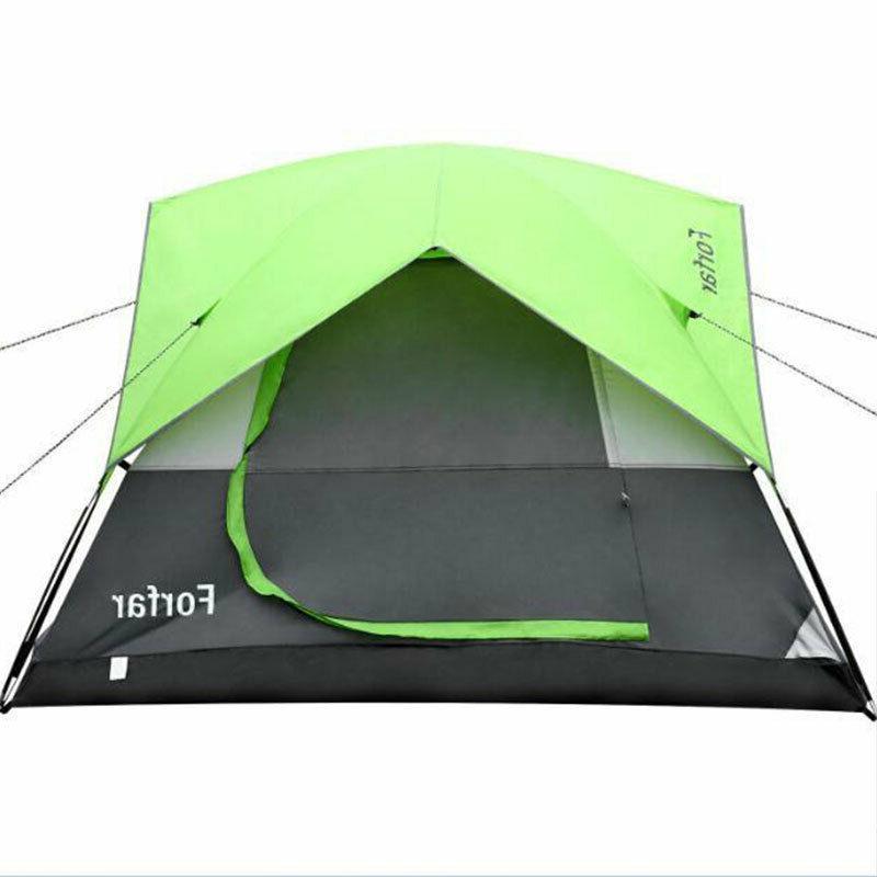 3-4 Waterproof Season Family Tent Green