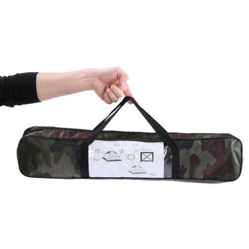 3-4 Person Camping Waterproof 4 Tent Camo Easy install US