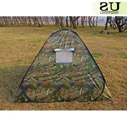 3-4 Person Camping Waterproof Pop Up Camouflage