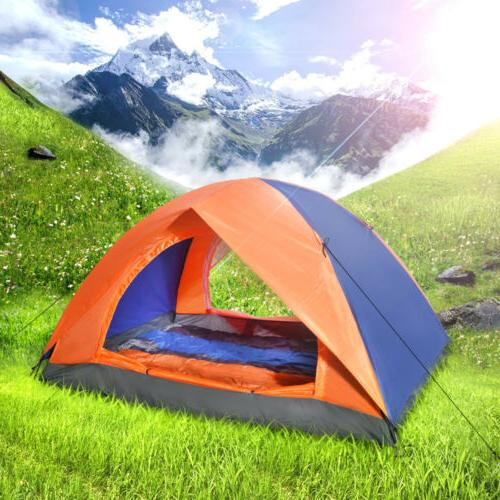 2 Person Portable Waterproof Beach tent Sun Shelter Outdoor