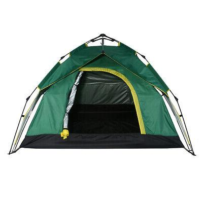 Outdoor Camping Person Tent Camouflage Hiking Travel