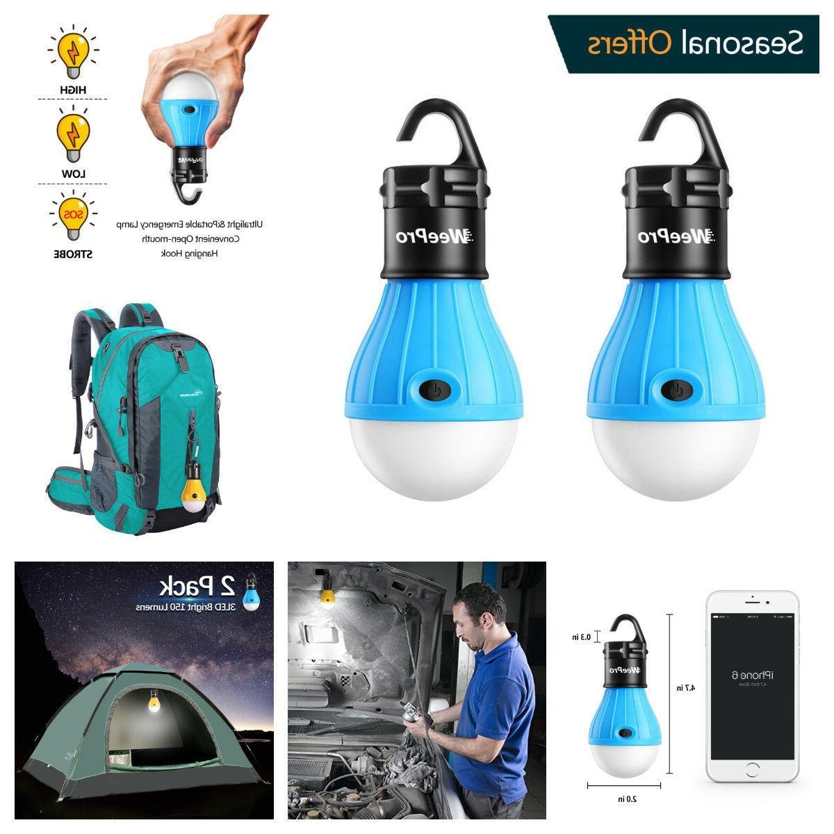 3 Tent Emergency Outdoor Light Lantern US