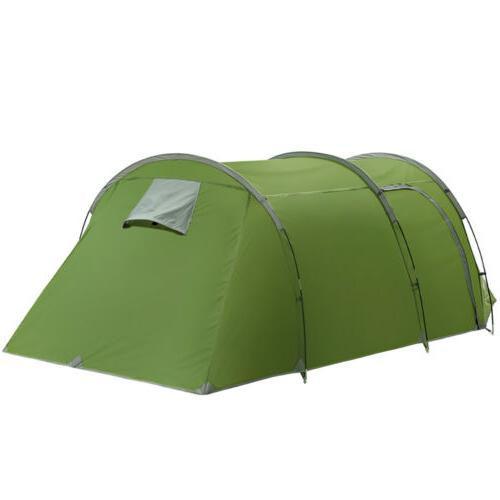 Large Outdoor Tent 5-6 Person Cabin Tunnel