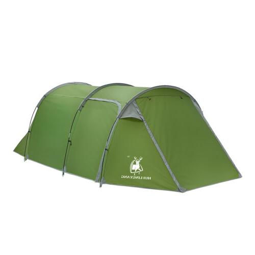 Large Outdoor Camping Hiking Tent 5-6 Person