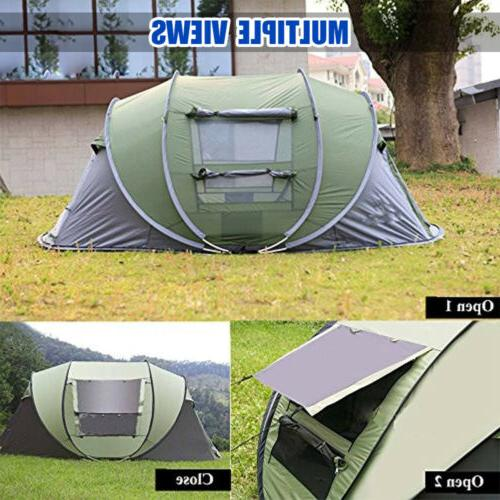 4-5 Person Up Tent Waterproof Backpacking Hiking