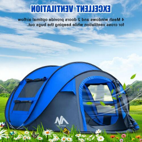 3-4 Pop Up Camping Backpacking Hiking