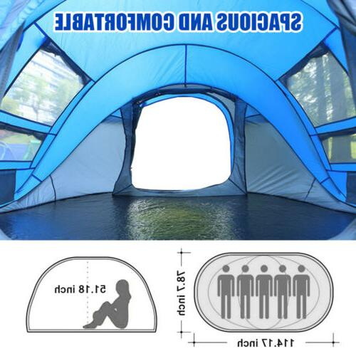 4-5 Up Camping Backpacking Instant Tent