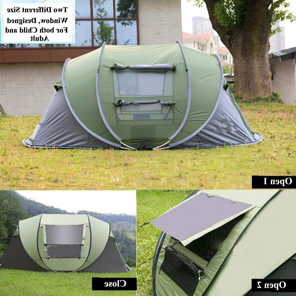 4 Tent Up Waterproof Canopy Green
