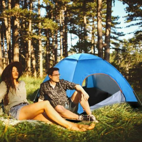 4-Person Instant Camping Outdoor Family Shelter