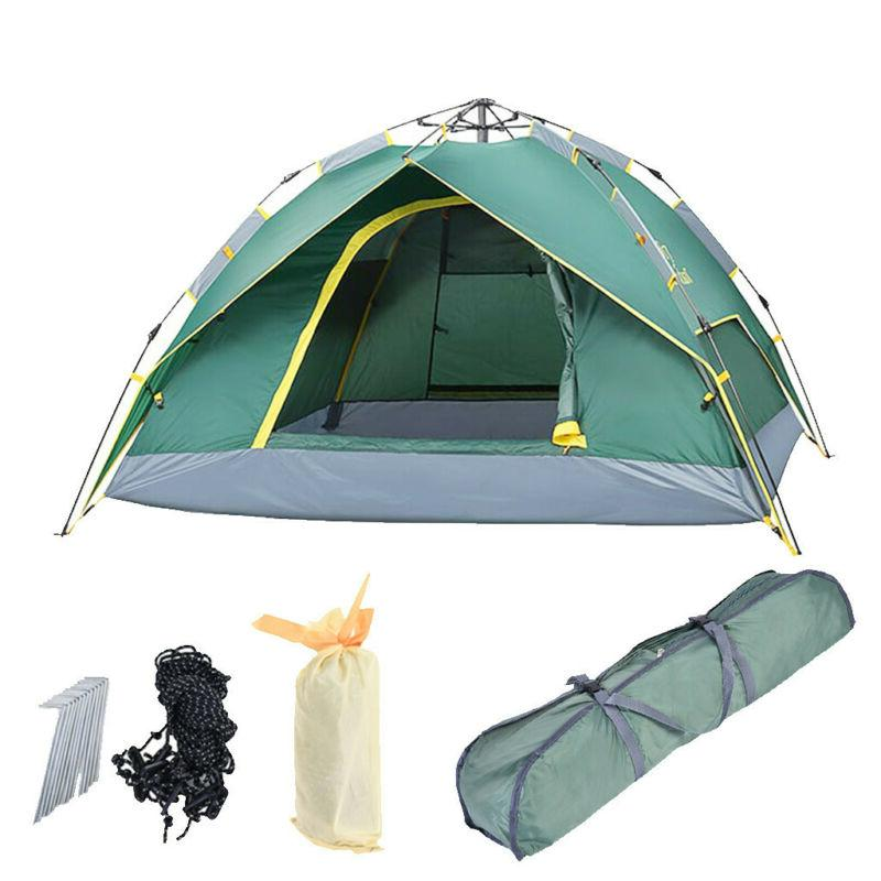 4-Person Instant Camping Outdoor Shelter