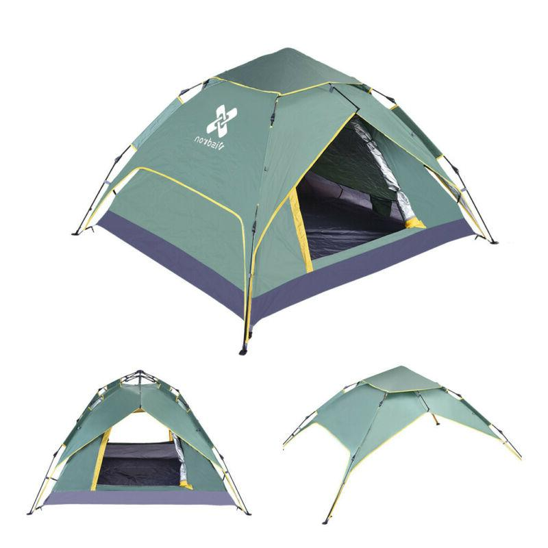 4-Person Instant Tent Camping Outdoor Shelter Waterproof