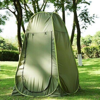 4 Hiking Pop Up Shelter Outdoor Shower