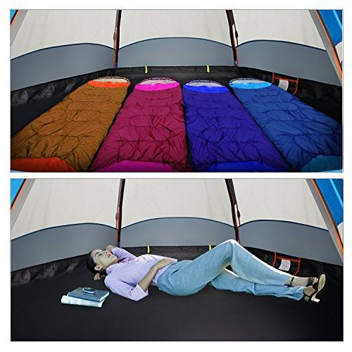 Instant Up Camping Tent Layer 4 Season